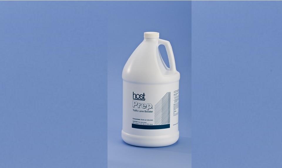 Limpieza de alfombras en seco con productos Host Dry. Limpiador de refuerzo HOST PREP.