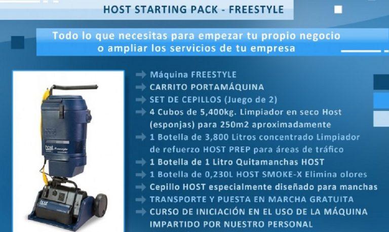 Comienza tu negocio con Starting Pack Freestyle