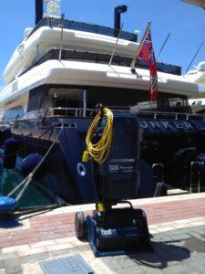 limpieza de barcos y yates