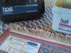 limpieza para alfombras orientales