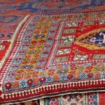 Sistema de limpieza para alfombras orientales