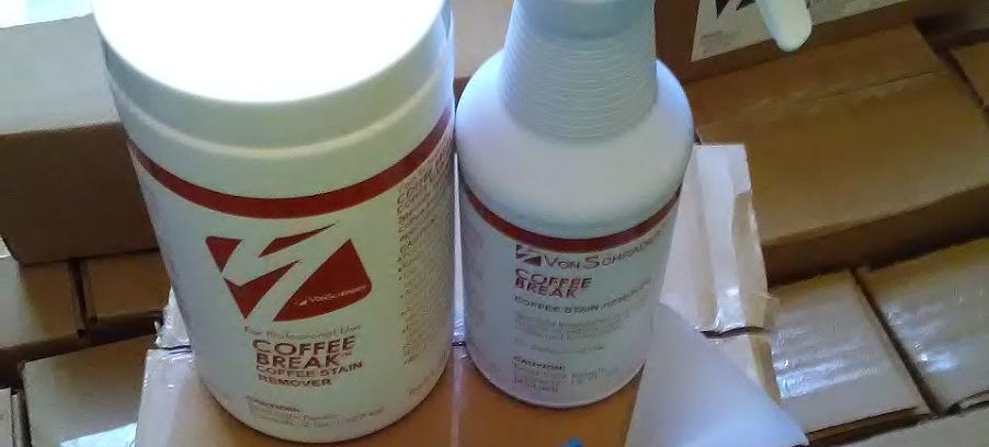 Quitamanchas de café  ¡Nuevo producto de Host!