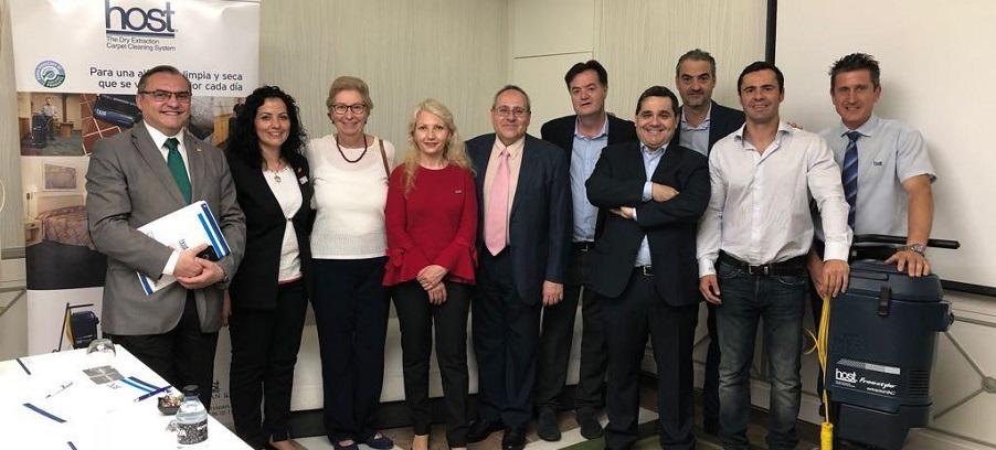 Presentación del sistema Host en el Hotel Mayorazgo de Madrid