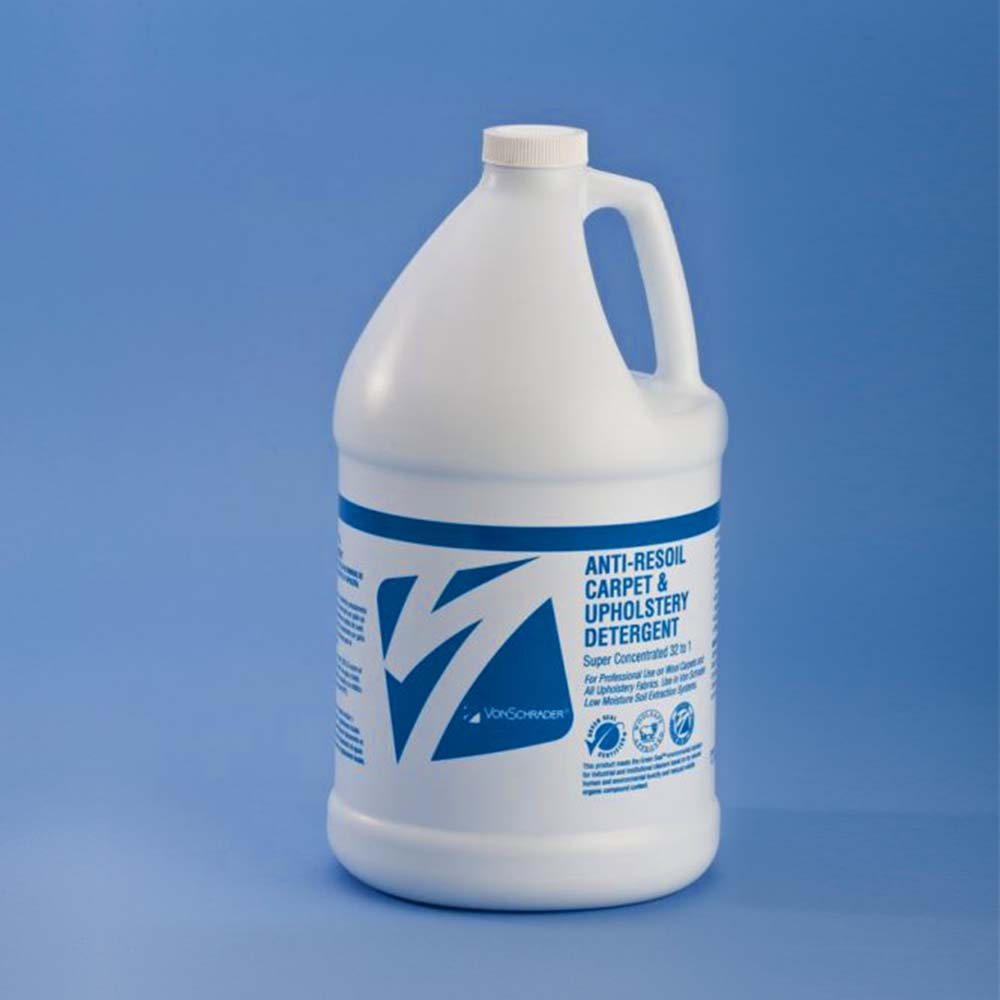 Productos de limpieza Von Schrader en España: ANTI-RESOIL CARPET AND UPHOLSTERY DETERGENT