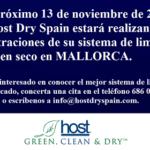 Host Dry Spain estará en Mallorca el 13 de Noviembre