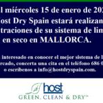 El 15 de enero de 2020 Host Dry Spain estará en Mallorca