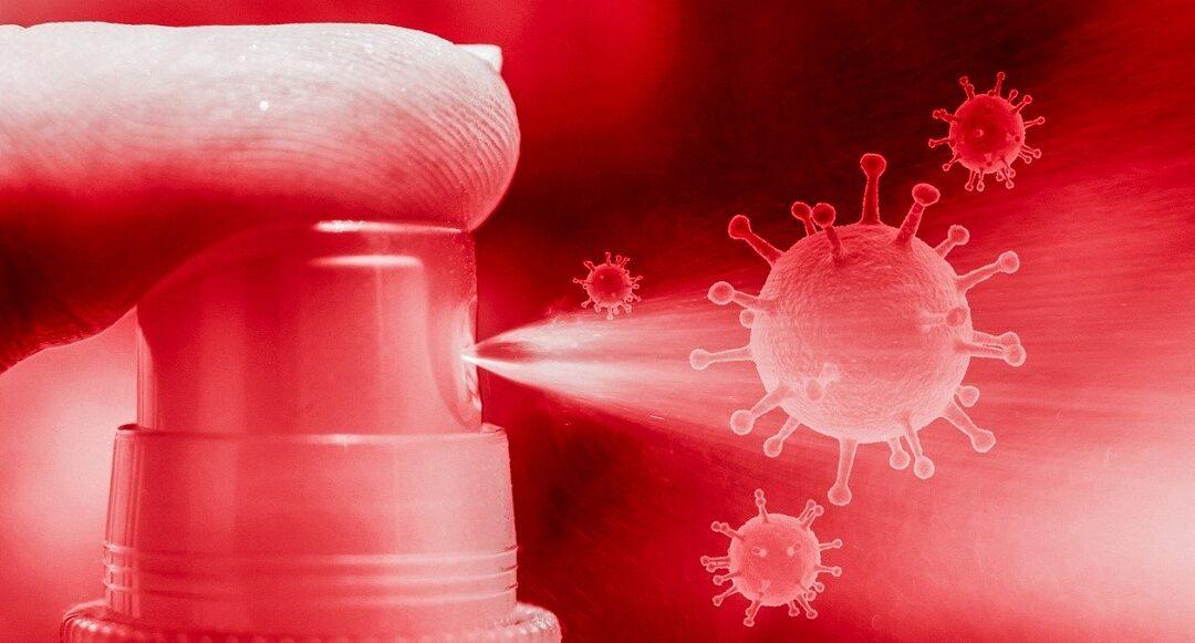 Desinfección y limpieza Host contra el coronavirus