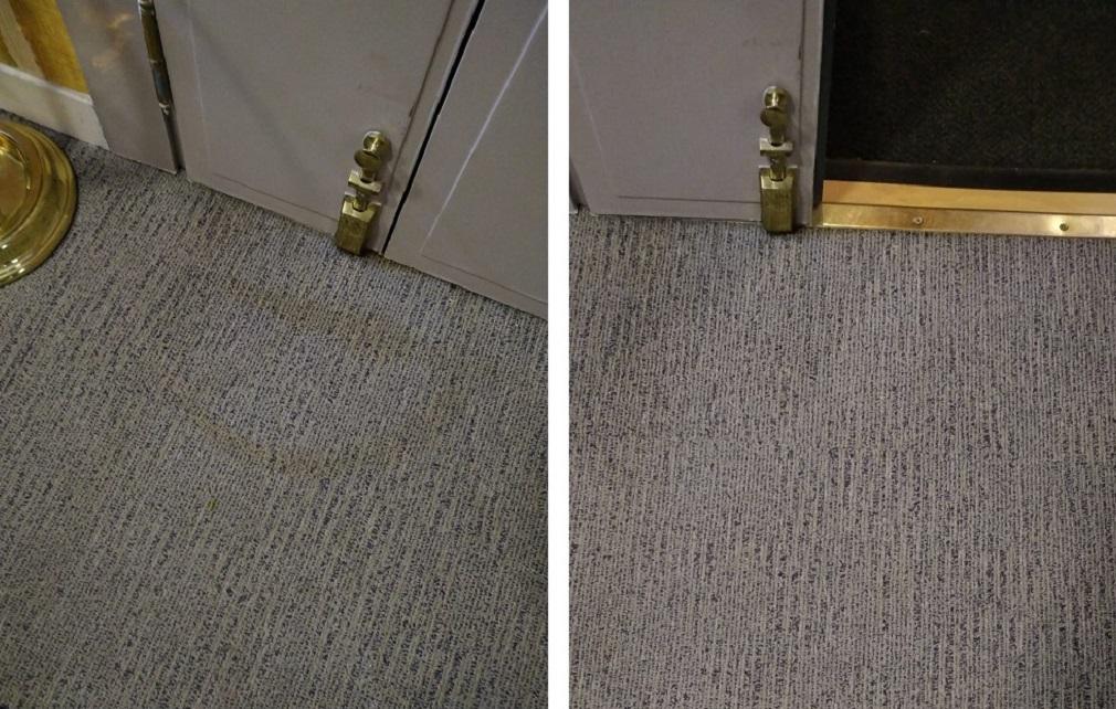 Causas de la reaparición de manchas en alfombras y moquetas